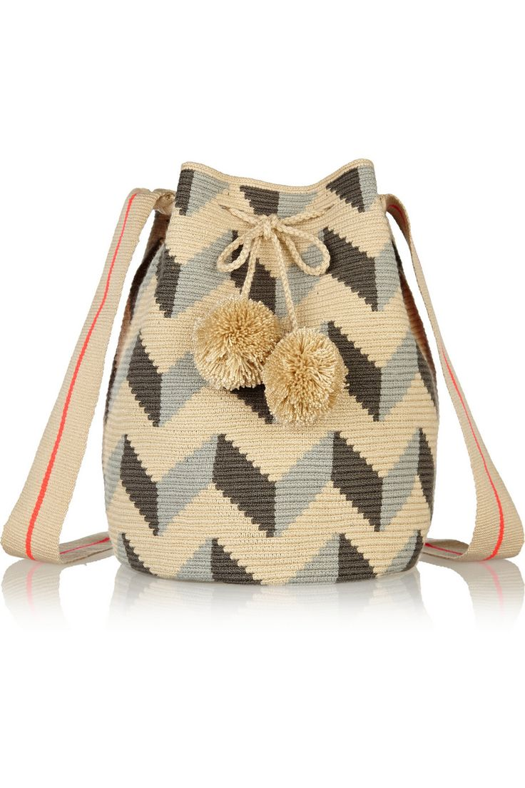 Sophie Anderson|Lilia crocheted cotton shoulder bag