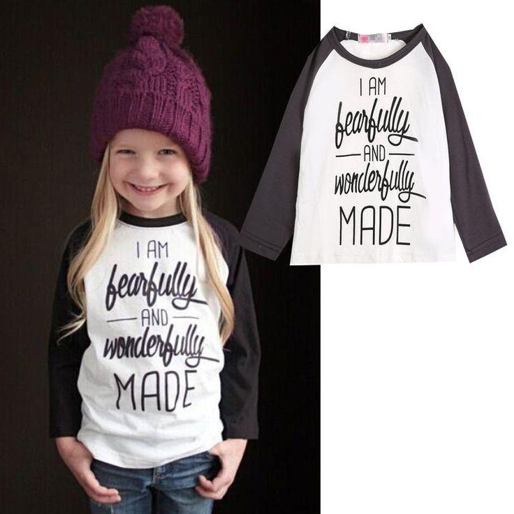 2015 Baby Girls Letter Print T-Shirt Toddler Long Sleeve tops Blouse cotton kids t shirt girls clothing