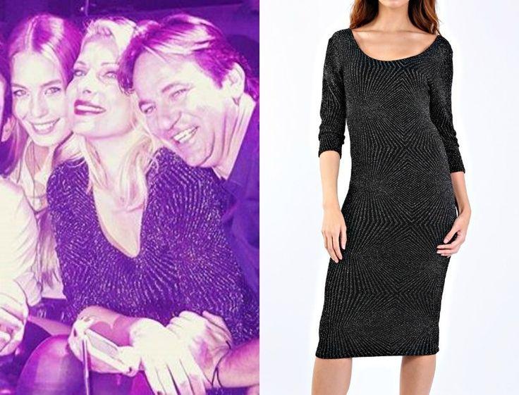 Ελένη Μενεγάκη : To μεταλλιζέ φόρεμα που επέλεξε στην έξοδο της, στοιχίζει μόλις 30 ευρώ | Follow Me