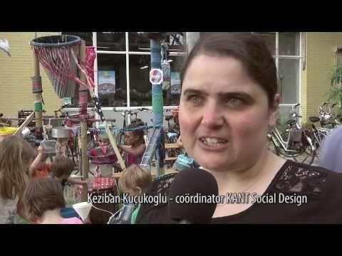 Sfeerreportage Opening community-kunstwerk 3 op Buurtcamping. Camera & productie: Corné Biekens