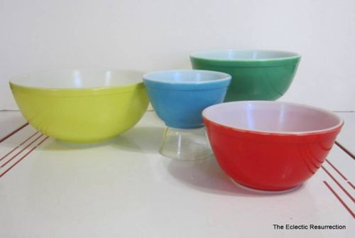 dating pyrex primary bowls New and used pyrex nesting bowls primary items up for sale buy and sell pyrex nesting bowls primary products on findtarget auctions online auction site.