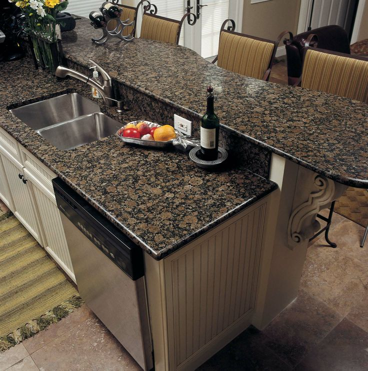 Fab granite countertops in Baltic brown color. - 24 Best BARRAS Images On Pinterest Kitchen Bars, Kitchen Ideas