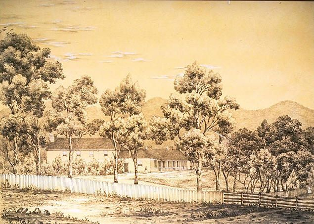 Government House, Risdon, Van Diemen's Land