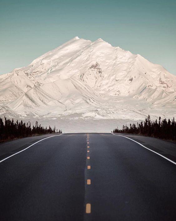 In Mount Drum, Alaska, USA.