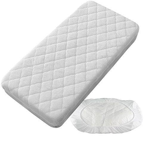 ARTICULO: Protector Colchón / Cubrecolchón Impermeable Acolchado, de textura riza proporcionando la transpiración del protector. ————————————————  MATERIAL: 50% Algodón (Parte superior rizo) , 50% PVC...