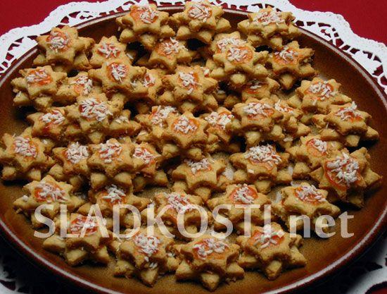 Kokosové hvězdičky dia