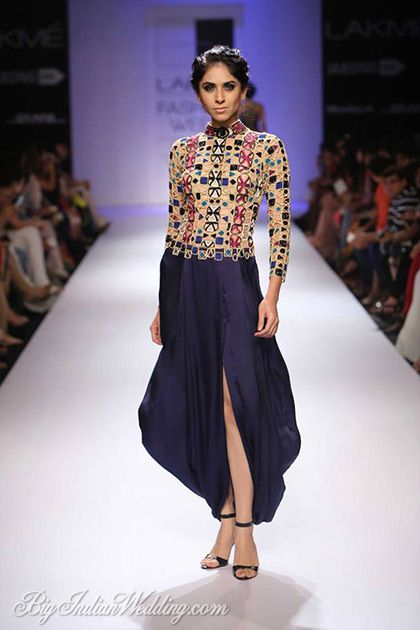 Sonaakshi Raaj at Lakme Fashion Week Winter/Festive 2014