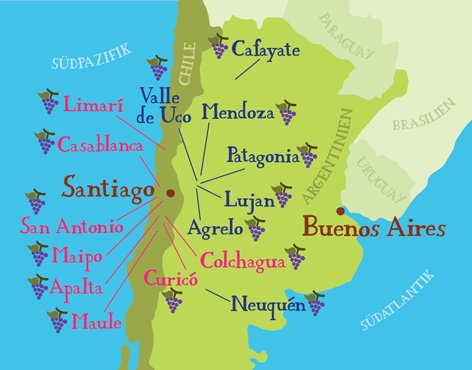 Best Chile Maps Images On Pinterest Chile Maps And Travel - Map 0f argentina