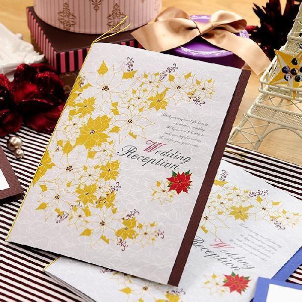 クリスマス・ベル 席次表パンフレット手作りセット/結婚式 席次表 :HM-Xmasbell-SL:結婚式グッズ&ギフトのお店 Farbe - 通販 - Yahoo!ショッピング