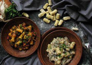 Пошаговый рецепт ньокии #рецепт #италия #ньокки #соус #паста #картофель #рецепт #кулинария #блог #evilolivefood