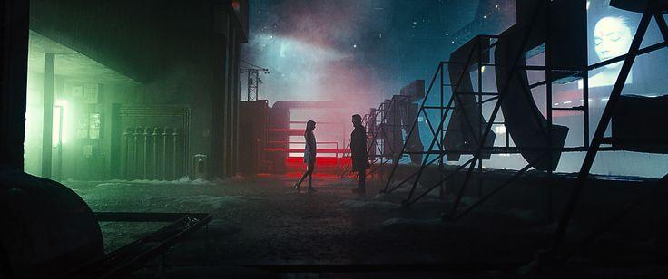 Blade Runner 2049. Magnifique mais un peu ennuyeux.Photo superbe, slow burn parfait mais mon bon que 'Premier contact' niveau émotionnel.