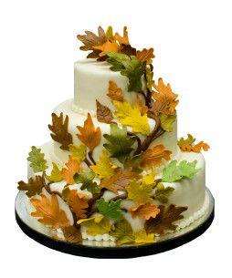 Tort-Nunta-Autumn-Leaves