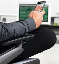 How do you design a chair for the iPad age? The Steelcase Gesture: a chair for the post-desk office, wherever that may be