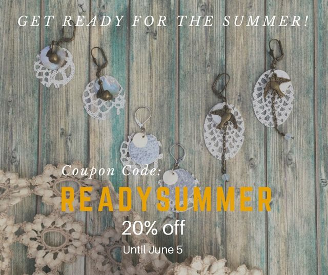 Carla Amaro:  Etsy Shop Summer Campaign 20%off https://goo.gl/iMUY7a