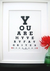 Image of Wall art for a Little Boys Room|You are My Very Favorite Superhero