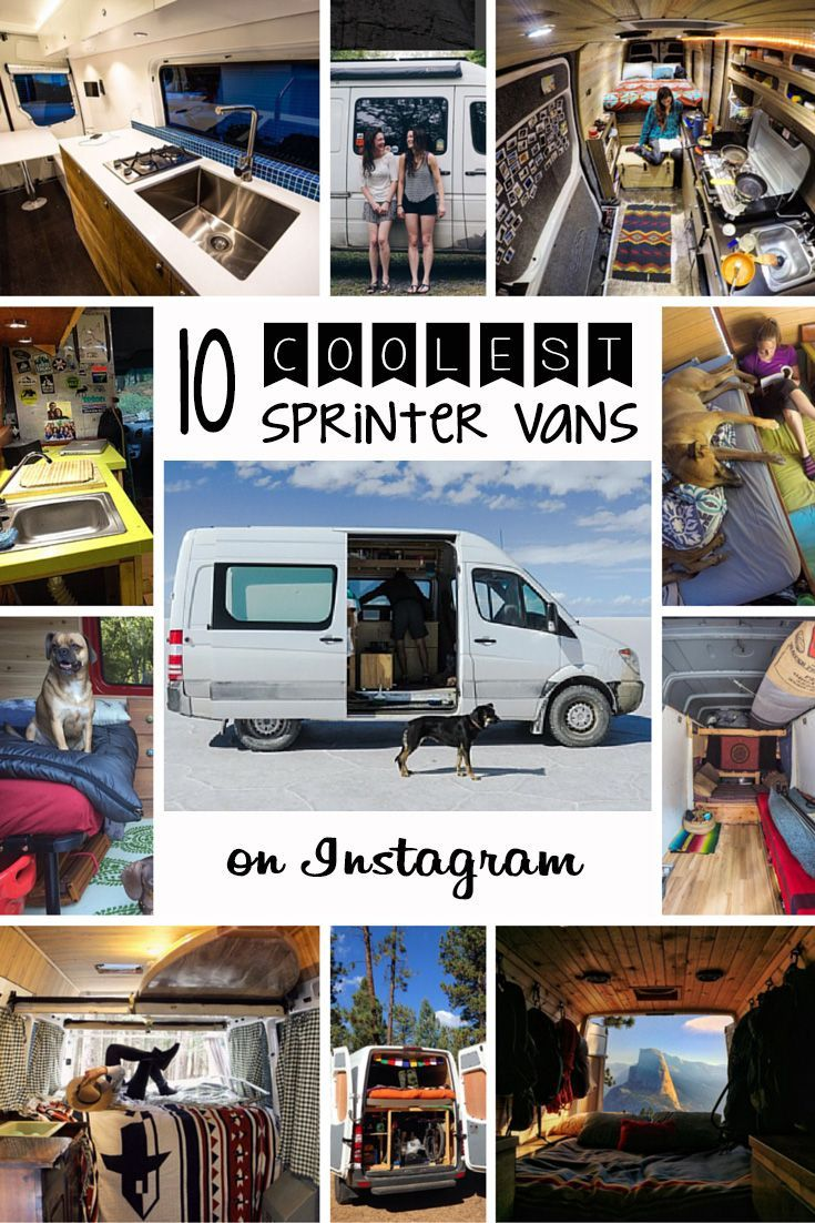 I'm obsessed with these sprinter van campers. So much great inspiration for a camper van conversion.