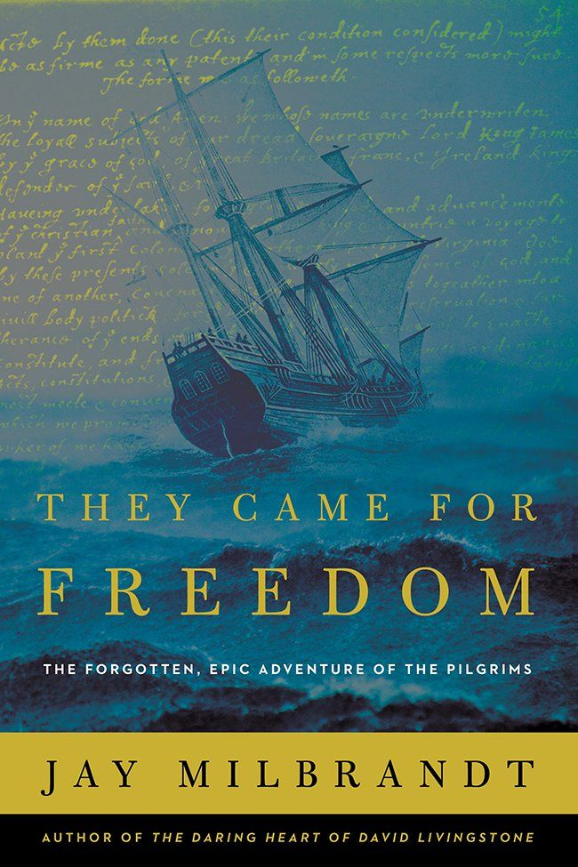 "In his new book, , Bethel University professor and descendent of two Mayflower Pilgrims Jay Milbrandt, sought to answer the question, What drove the Pilgrims make the dangerous and remarkable journey to America?""It dawned on me that I hadn't taken the time to understand why the Pilgrims made their journey,"" said Milbrant. ""After some research, I [...]"