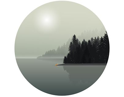 "Check out new work on my @Behance portfolio: ""Misty Lake"" http://be.net/gallery/36388633/Misty-Lake"