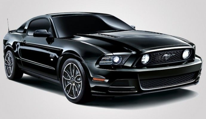 Ford Mustang V8 GT Coupe The Black, an uber-stylish special edition only for Japan
