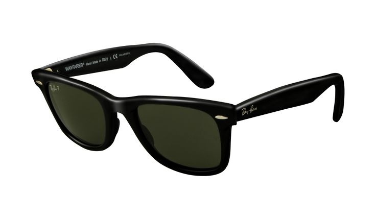 Ray-Ban's Original Wayfarer. Remember when this was part of seemingly everyone's uniform? Those who couldn't afford them, wore faux ones...bring that back...