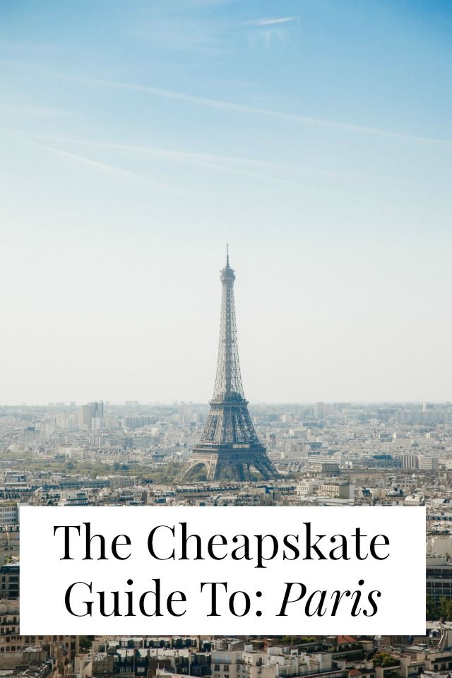 Can Paris be cheap? It can be if you read this travel guide from an American expat and her French boyfriend! Click through for $21 Airbnbs, three course meals for $9.50, and free museums and galleries! >> yesandyes.org