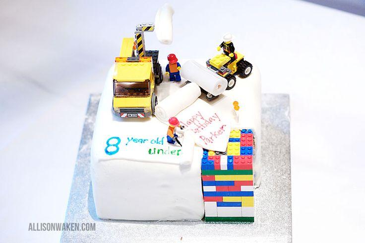 All for the Boys - All for the Boys  Lego Cake!: Lego Bricks, Happy Birthday Lego, Boys Lego, Cute Idea, Idea Lego Men'S, Lego Items, Easy Lego, Lego Cakes, Lego Birthday Cakes