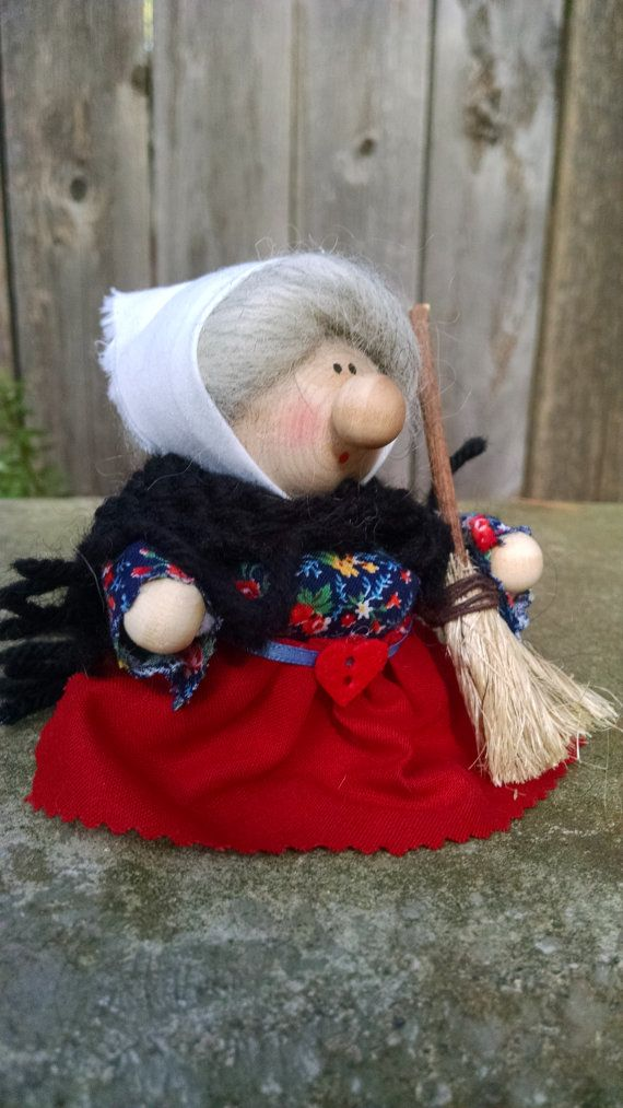 Kitchen Witch/Strega Nona/La Befana by Tomtenology on Etsy