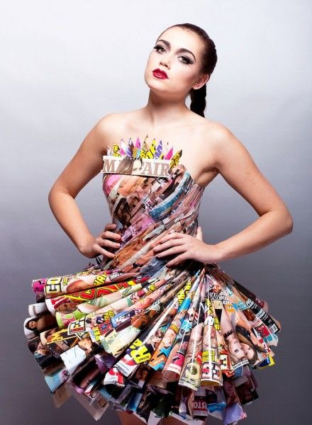 recycled fashion essay Don't according to a new report from the council for textile recycling (ctr),  the average american throws away 70 pounds of clothing.