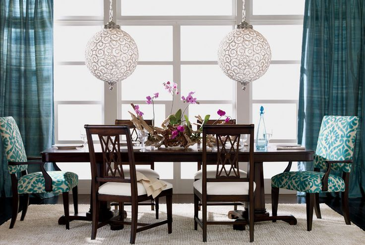 Ethan Allen Dining Rooms Blue Dining Rooms Decor
