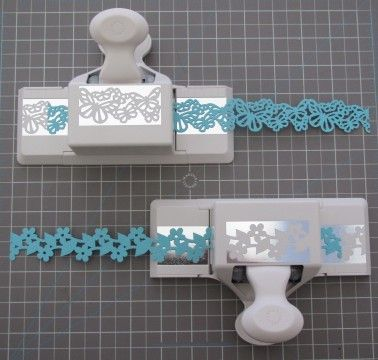Making paper lace with punches - also has instructions for deep edge punches all from Martha