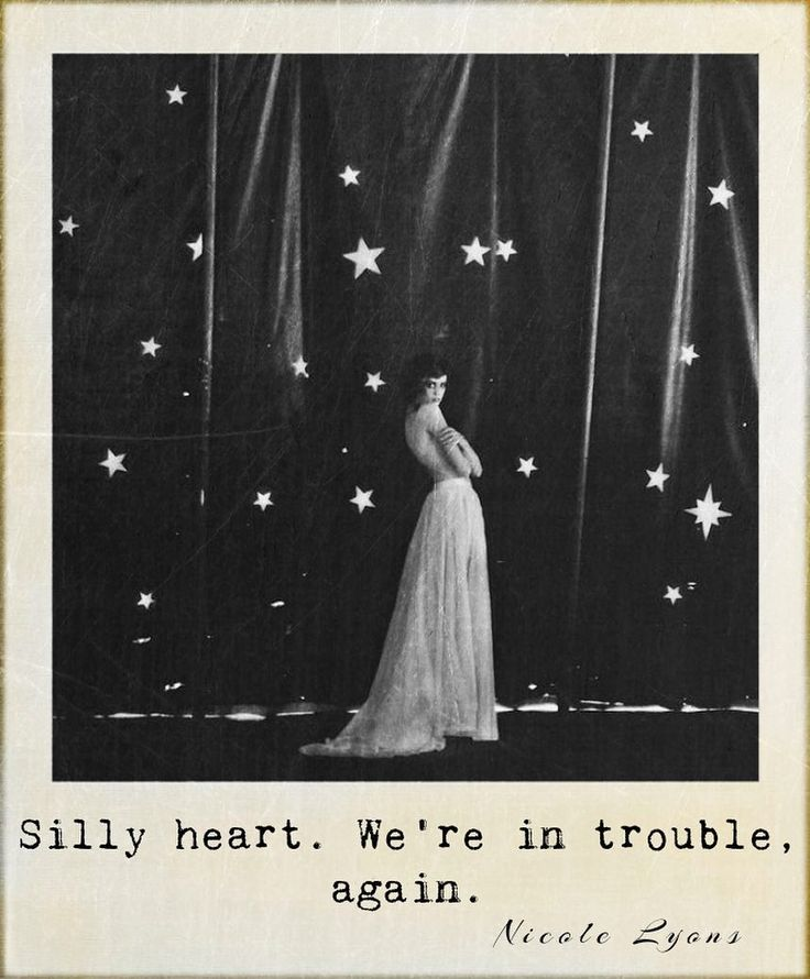 Silly heart...☄