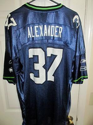 Reebok Shaun Alexander , Seattle Seahawks jersey , X-large