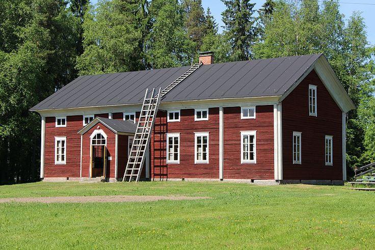 Talonpoikaismuseo Katvala Nivala. Northern  Ostrobothnia province of Finland, - Pohjois-Pohjanmaa
