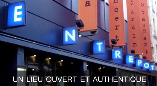 L'entrepôt - lieu de culture à Paris 14ème
