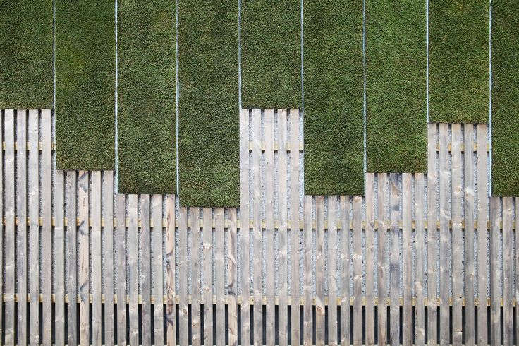 Greenworks' outdoor moss wall. Scania Group building, Stockholm.