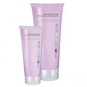 ING Extra Strong Gum - Gel Για Δυνατό Κράτημα 250ml Το συγκεκριμένο gel μαλλιών έχει πολύ δυνατό κράτημα ενώ τα θρεπτικά του συστατικά περιποιούνται την τρίχα. Δίνει κράτημα που διαρκεί ενώ στεγνώνει πολύ γρήγορα.  Ενεργά Συστατικά: Οξέα φρούτων: αναζωογονούν και ενυδατώνουν, Ginseng: αντιοξειδωτική δράση, Guarana: τονωτική δράση  Χρήση: Βάζετε μία μικρή ποσότητα στην παλάμη σας και εφαρμόζετε σε στεγνά ή νωπά μαλλιά. Κατόπιν προχωράτε στο επιθυμητό χτένισμα.  Τιμή €5.00