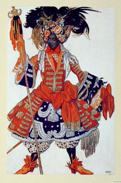 Costume design for The Queen's Guard, from Sleeping Beauty, 1921 Wall Art Prints by Leon Bakst