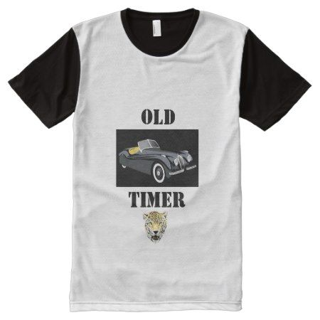 Old Timer Jaguar T Shirt - tap, personalize, buy right now!