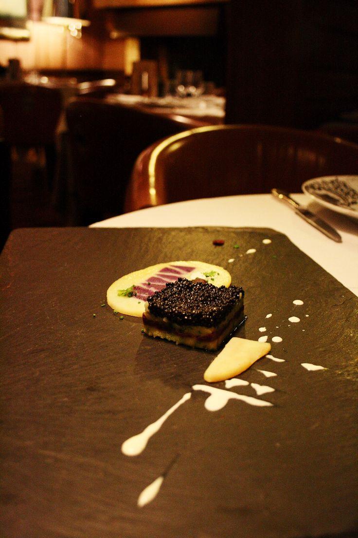 Caviar de France, Vitelotte et Charlotte #relaischateaux #cazaudehore #saintgermainenlaye