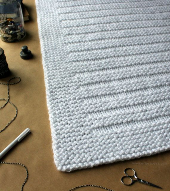 KNITTING PATTERN / Blanket / Where the Sidewalk Ends / Throw /