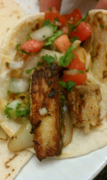 Healthy Fish Tacos Last night we had shrimp tacos..tonight FISH TACO'S! OMG! These were so good! Even better than our favorites at a nearby Mexican hang out! Fish Tacos Fresh Tortillas small …