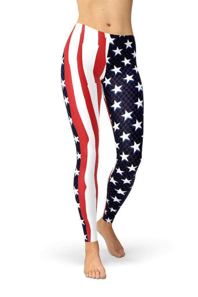 American Flag Women's Leggings