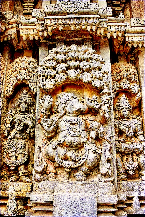 Ganesha, Somnathpur Temple, Hoysala Dynasty