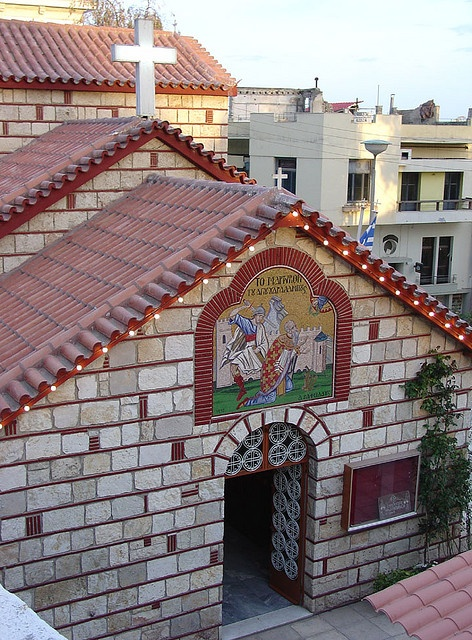 Orthodox church from Greece Orthodox Church from Thessaloniki, Greece.