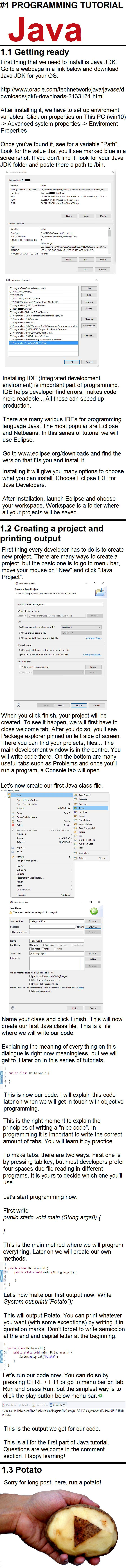 Best 25 java tutorial ideas on pinterest best computer for 1 java tutorial setting up and beginning fandeluxe Gallery