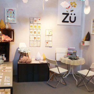 le stand de ZÜ, créatrice pour enfant sur le salon Maison et Objet