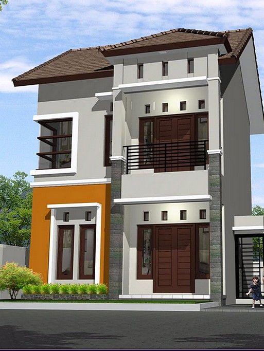 Model Rumah Minimalis 2 Lantai Sederhana Dekorasi
