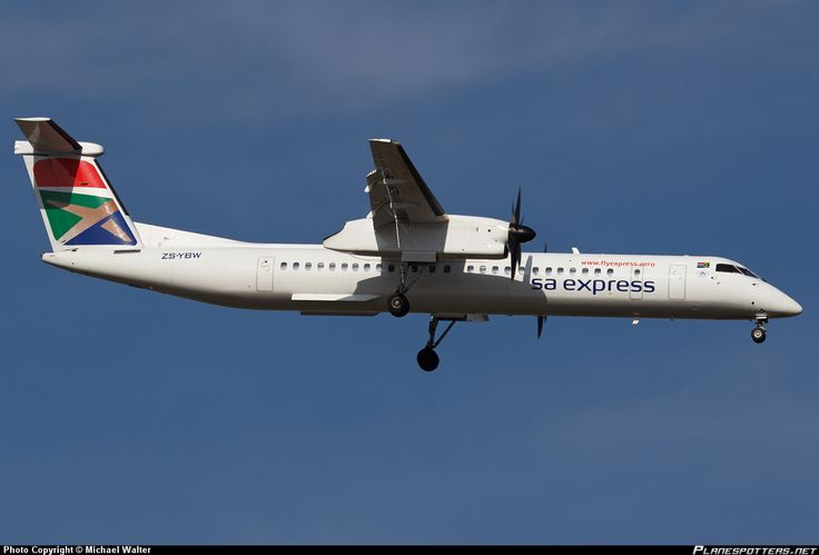 ZS-YBW South African Express Canadair de Havilland DHC-8-400