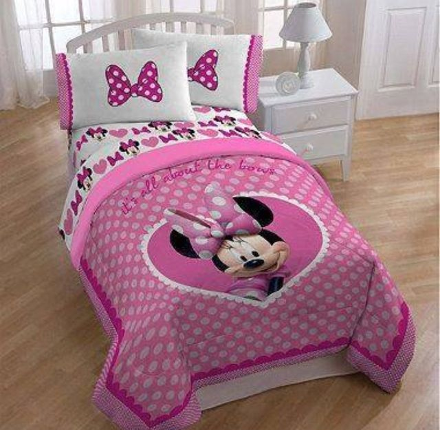 Minnie Mouse bed                                                                                                                                                                                 More