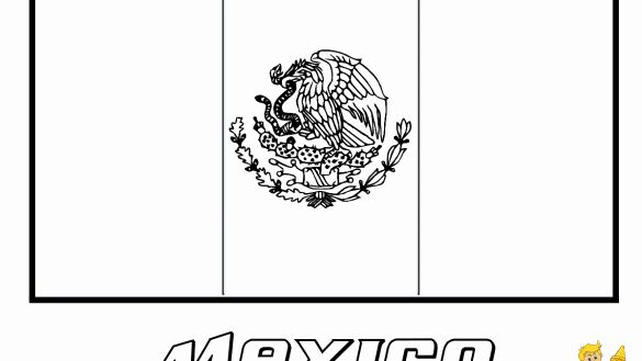 Mexican Flag Printable Coloring Page Lovely Pretty Inspiration Mexican Flag To Colour Coloring Pages Flag Printable Printable Coloring Pages Printable Coloring
